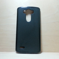 LG G3 Soft TPU translucent Color Case Protective Silicone Back Case Cover - Black