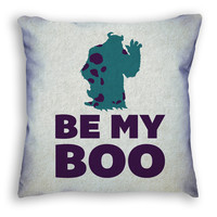 Be My Boo Monsters Inc Pillow ( Six3 Collective )