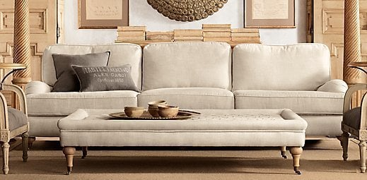 Tufted Coffee Ottoman | Restoration Hardware