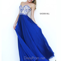 Strapless Sweetheart Formal Prom Gown By Sherri Hill 1947