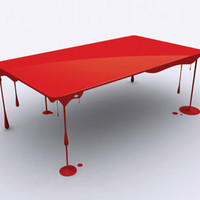 Dripping Paint Table, John Nouanesing Studio 