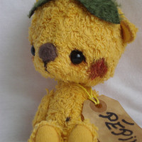 Pépin a yellow bear by viviedoudou on Etsy