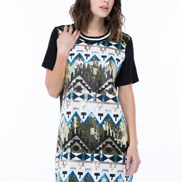 Ahead Of The Tribe Sequin Dress