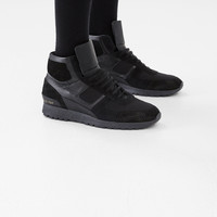 Totokaelo - Robert Geller Black Robert Geller X Common Projects Mid-Cut Track Sneaker - $720.00
