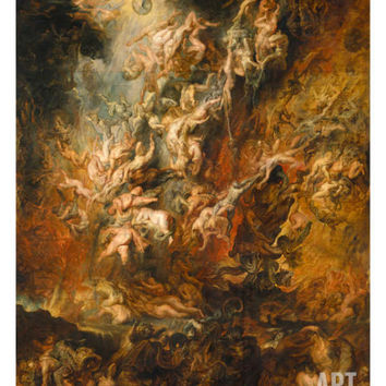War in Heaven Art Print by Peter Paul Rubens at Art.com