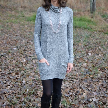 Winter Frost Tunic Dress