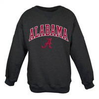 Alabama Tackle Twill Fleece Crew - Black