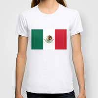 The National flag of Mexico (Officially the Flag of the United Mexican States) T-shirt by LonestarDesigns2020 - Flags Designs +