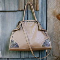 Sadie Studded Tote, Sweet Bohemian Totes &amp; Bags
