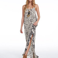 Silk Tapestry Maxi Dress by Chaser