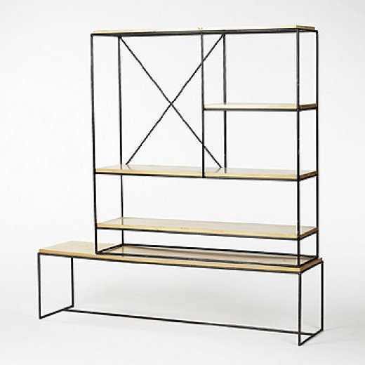 Paul McCobb / shelving unit / Modern Design, 06 October 2002 at Wright