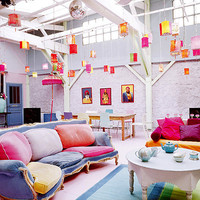 colorful-home-interior-design-1 - Interior Design Idea - Home Interior Designs Inspiration Ideas