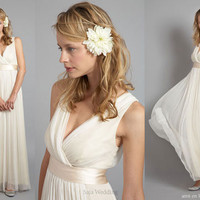 Grecian Goddess Wedding Dresses Grecian Goddess Wedding Dresses Picture 3 ? Wedding Inspiration Blog