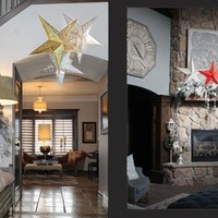 BLOWOUT PRICING! Beautiful Paper Star Lanterns with LED light!