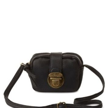 Mini Cross-Body Purse by Charlotte Russe - Black