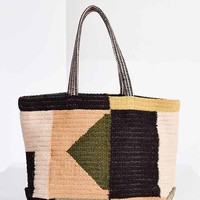 BDG Woven Wool Sweater Tote- Black Multi One