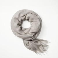 Rag & Bone - Buckley Scarf, Smoke Size ONE
