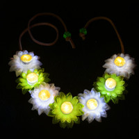 Music festival,LED Daisy Flower Headband,Rave accessory , EDC,Festival Wear,  Flower Crown, Flower Halo, Electric Daisy Carnival,  Coachella