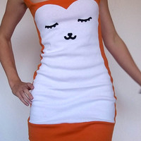 My Deer Love Minidress MADE TO ORDER