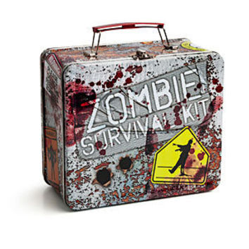 Zombie Survival Kit Lunch Box