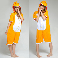 Orange Little Dinosaur Kigurumi Costume Animal Pajamas Disney Fancy Dress Costumes [C20120727] - £29.31 : Zentai, Sexy Lingerie, Zentai Suit, Chemise