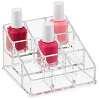 9-Section Acrylic Nail Polish Riser