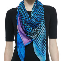 Proenza Schouler Photo Gate Printed Silk Scarf