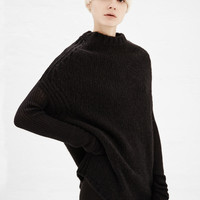 Totokaelo - Rick Owens Black Crater Knit Sweater - $1,337.00