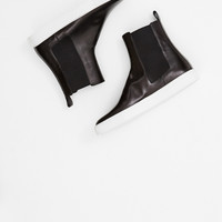 Totokaelo - Dries Van Noten Black Slip On Boot - $720.00