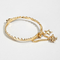 Disney Couture Shark Bracelet | Little Mermaid Bangle | fredflare.com