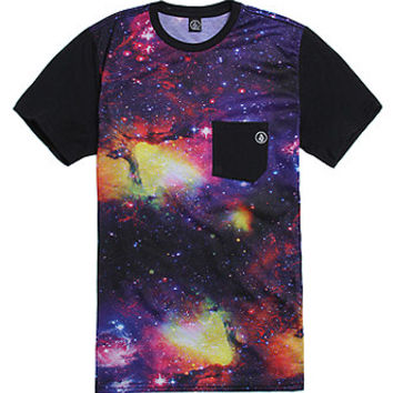 Volcom Newboola Multi Pocket T-Shirt - Mens Tee - Multi