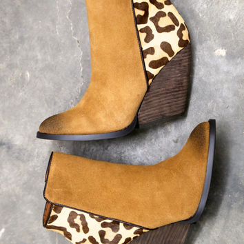 Chatter Bootie By Very Volatile - Cheetah