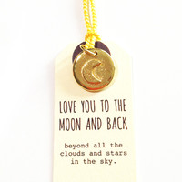 Golden Moon and Back Charm - Golden Moon and Back Charm