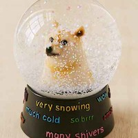 Doge Snowglobe- Clear One
