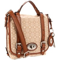 Fossil Maddox Signature Organizer Flap Cross Body - designer shoes, handbags, jewelry, watches, and fashion accessories | endless.com