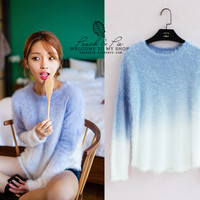 4 colors - Warm Sweater from Peach & Pie