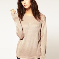 Cheap Monday Fine Gauge Seamed Knit at asos.com