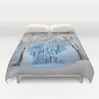 Another winter wonderland Duvet Cover by MehrFarbeimLeben