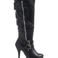 Double Feature Platform Boots