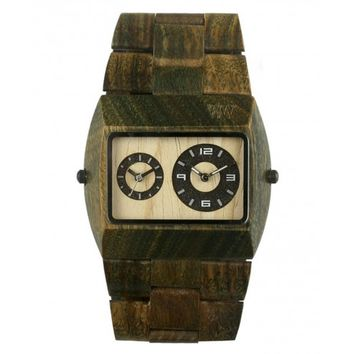 WeWood Jupiter Army Wood Watch