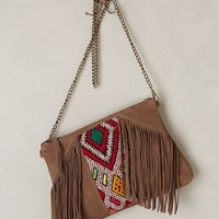 Meriem Fringed Crossbody Bag by Howsty Taupe One Size Bags