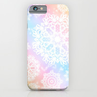 Aurora Frost iPhone & iPod Case by Lisa Argyropoulos