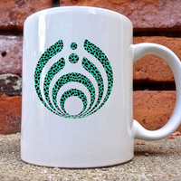 Bassnectar Mint Leopard Mug is beautifully and uniquely designed on a white coated ceramic.