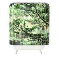 Lisa Argyropoulos Forest Whispers Shower Curtain