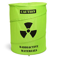 Toxic Waste Drum Laundry Basket