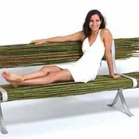 'Bamboo' Public Seating Unit by Gal Ben-Arav | materialicious