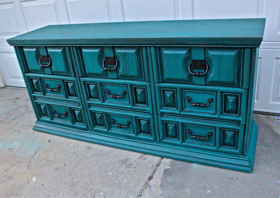 I Love The Color Teal On Pinterest Teal Google And Turquoise Painted Furniture