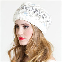Norway Snow Beret Ivory