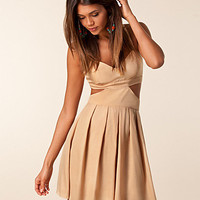 Linda Dress, Jeane Blush