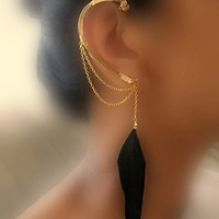Athena Ear Wrap by catchalljewelry on Etsy